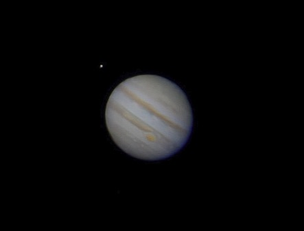 Jupiter with Moon
